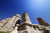 Fairy chimneys rock formations