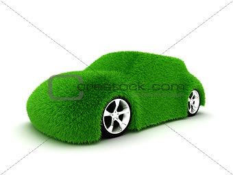 Ecologic green car