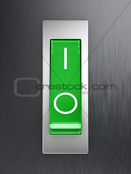 Green toggle switch