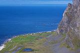 Coastal cliffs in Norway