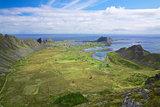 Island Vaeroy in Norway