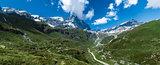 Valtournenche panorama, Aosta Valley - Italy
