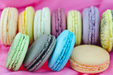close up macaroons