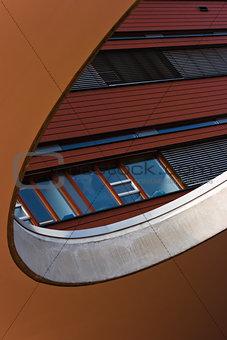 Details of modern building