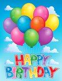Balloons theme image 3