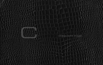 Black Gridded Leather Texture