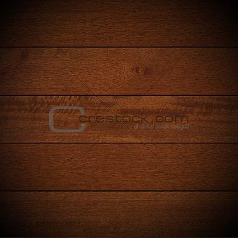 Old Dark Brown Wooden Boards