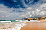 Famous Guincho Beach in Cascais near Lisbon, Portugal