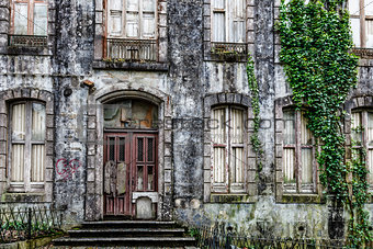 Old Haunted House in Sintra near Lisbon, Portugal