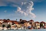 Medieval City of Omis on the River Cetina, Dalmatia, Croatia