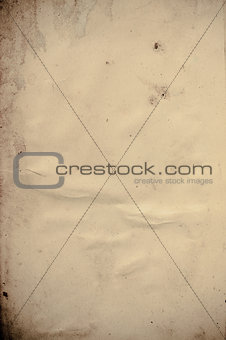 old beige paper background with scratches