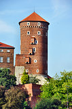 Tower at Wawel Castle