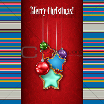 Abstract celebration background with white Christmas decorations