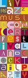 Music Text Banner