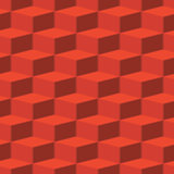 Vector red abstract texture - boxes