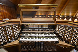 Church Pipe Organ Keyboards