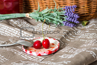 fresh cherries