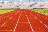 Orange track