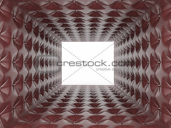 Abstract background from leather