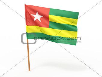 flag fluttering in the wind. Togo