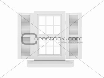 Closed window and shooters