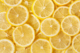 Healthy food, background. Lemon.