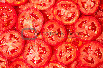 Tomatoes. Healthy food, background.
