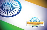 indian flag. independence day design illustration