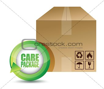 care package illustration design