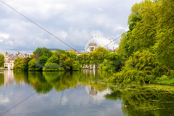 St. James Park in London