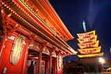 Senso-ji Gate in Tokyo
