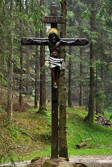 Old religious cross