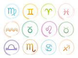 Horoscope signs set
