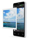 Mobile photo editing application