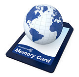 all your data in a memory card