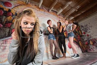 Cruel Gang Bullies Girl