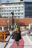 Turkish Woman in Head Scarf