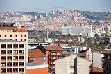 Residential and business sections of Ankara
