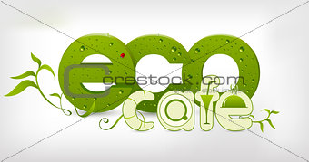 Green eco-cafe