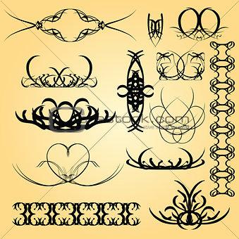 Calligraphy ornament