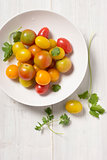 Mini Heirloom Tomatoes