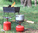 Gas cylinder and BBQ