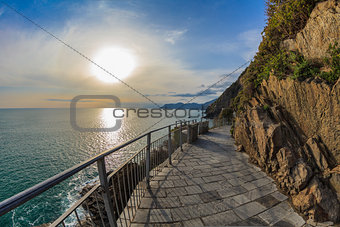 """Via dell amor"" of Cinque Terre"