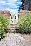 Stone Path to Garden Gate