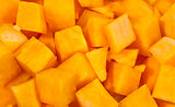 Pumpkin small blocks background
