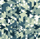 Geometric hipster retro background