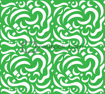 Arabic Letter Seamless Pattern
