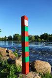 boundary pillar