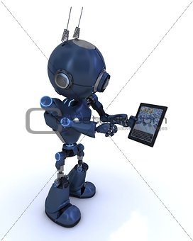 Android with mobile tablet device