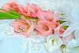 gladiola wedding bouquet